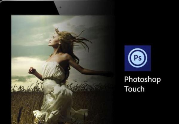 Обновление сенсорного Adobe Photoshop для IOS