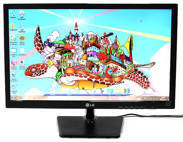 LG E2342T - 23'' монитор с LED-подсветкой и разрешением Full HD