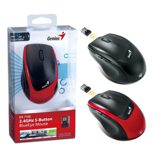 Пятикнопочная мышь Genius DX-7100 с технологией BlueEye