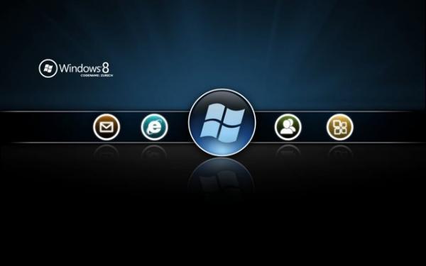 Пользовательский интерфейс Windows 8: официальный скриншот