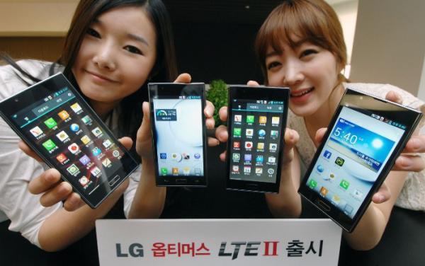 Представлен мощнейший смартфон LG Optimus LTE II!