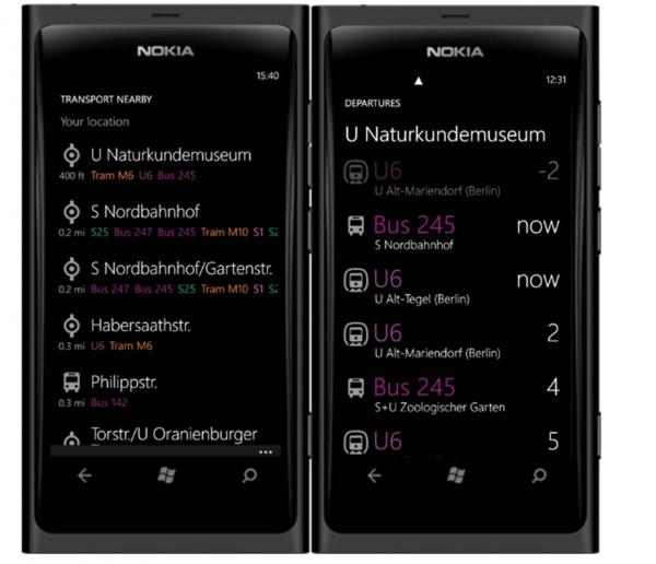 Представлен Nokia Transport 2.0 beta для Nokia Lumia