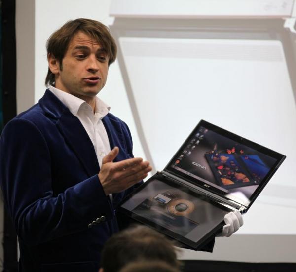 Ноутбуки с сенсорным экраном становятся массовым продуктом