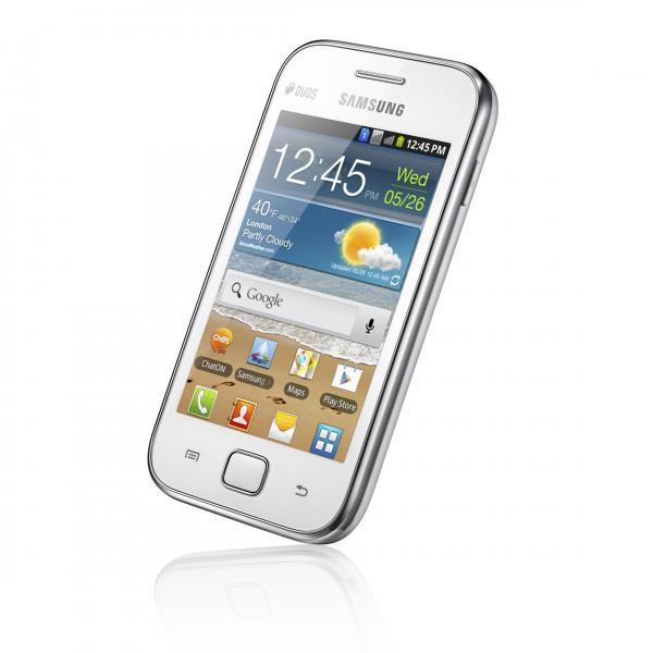 Samsung GALAXY Ace DUOS – стильный смартфон на две сим-карты