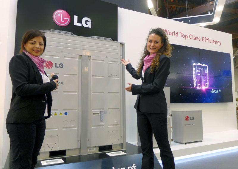 Новые решения LG в области вентиляции и кондиционирования воздуха