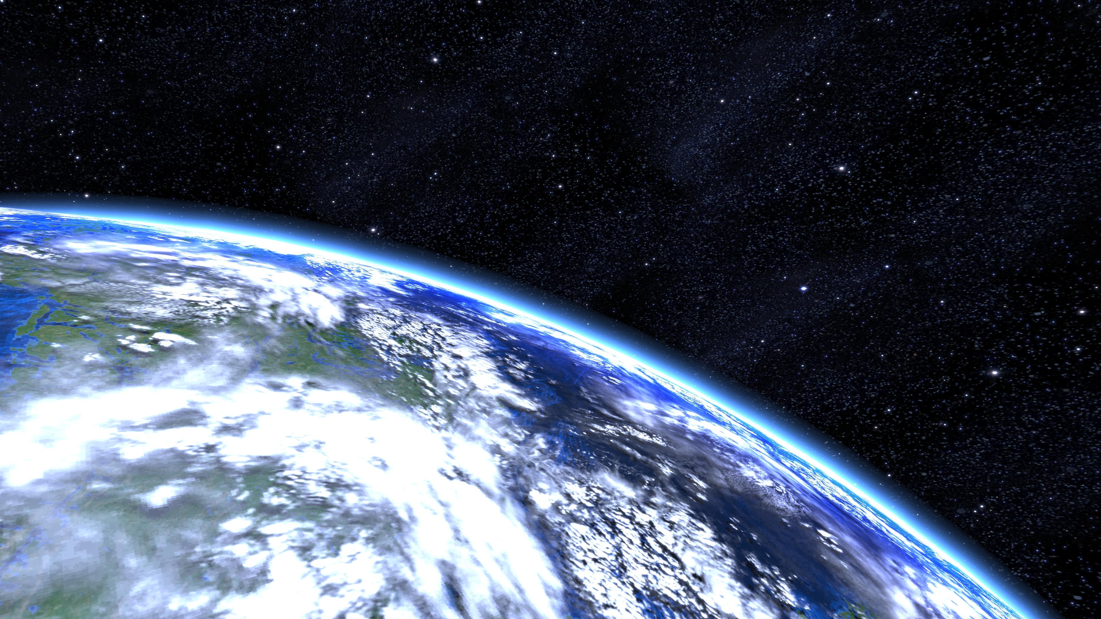 earth orbit video - HD2252×1260