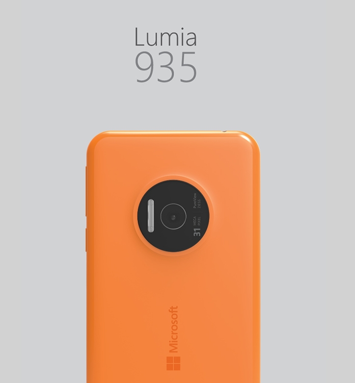 Смартфон моей мечты microsoft lumia 935 с 31 мп