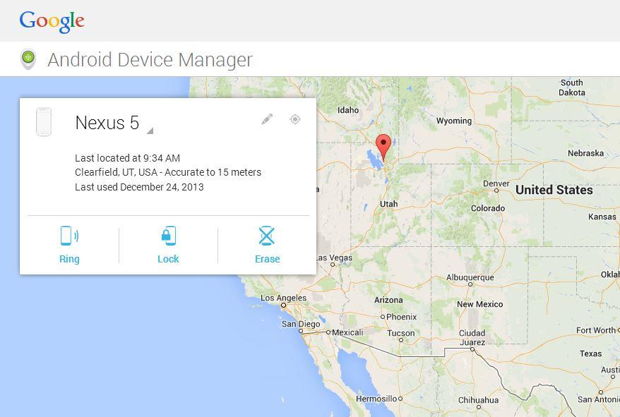 как найти местоположение телефона по google