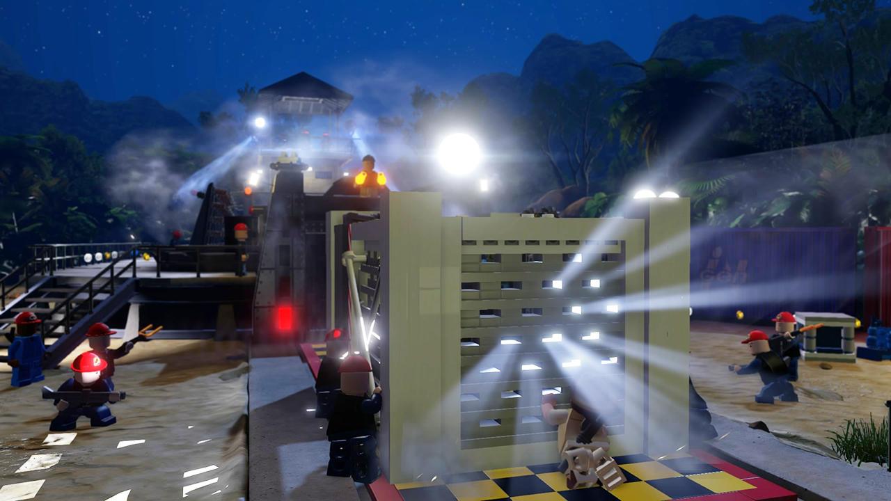 Lego парк юрского периода игра