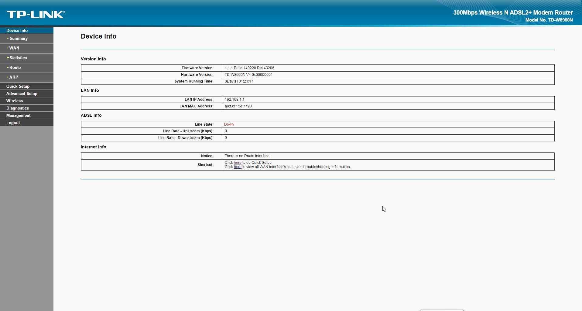 Обзор беспроводного маршрутизатора TP-LINK TD-W8960N